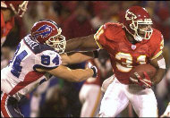 Priest Holmes - AP Photo