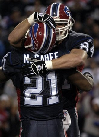 AP Photo - Willis McGahee, Mark Campbell